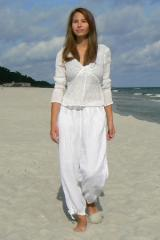 Clothes from flax