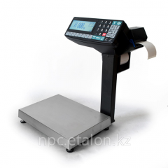 The packing printing scales registrars with a