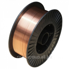Wire copperplated welding ER70S-6 ø of 0,8 mm 5 KG