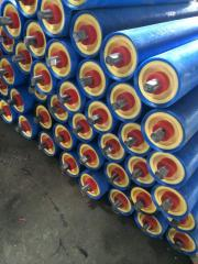 Rollers are polymeric, metal