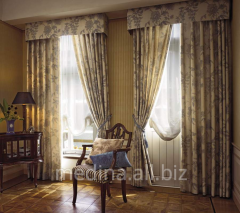 Curtains of exclusive tailoring in Almaty