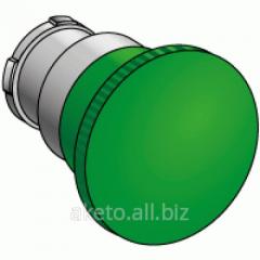 Головка кнопок управления с грибовидным толкателем