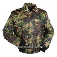 Куртка зимняя военного типа