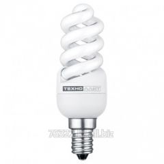 Лампа энергосберегающая SPIRAL-MINI 9W 827K E27