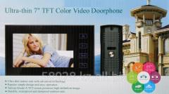 Цветной видеодомофон Ultra-thin 7 HN-701