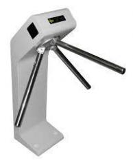 SA-301 turnstile with the IP controller