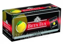 Beta Tea, Lemon, Пакетированный