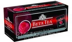 Beta Tea, Raspberry, Пакетированный