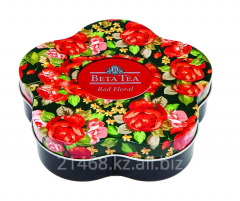 Beta Tea, Red Floral, Ж/Б