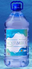 L AQUAMIRA 5 drinking water.