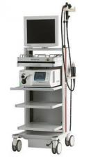The video endoscopic Pentax EPK-i5000 system with the permission of HD+
