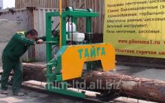 Tape power-saw bench T-1B Taiga