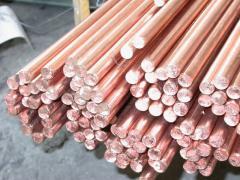 Copper d 8 circles; d 10; d 12; d 14; d 16; d17;