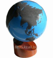 Глобус континенты600300