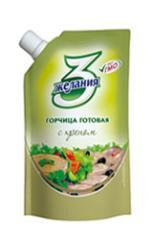 Prepared mustard with TM horse-radish 3 desires