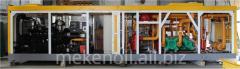 Mobile Block compressor installation
