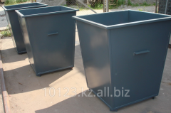 Container from metal, Garbage containers at Low