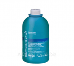 Shampoo for frequent washing of hair of