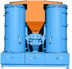 Universal vibrocentrifugal grain separators of