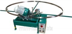 The automatic machine tool-grinding for preparation of tape saws