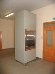 Elevators small cargo for hotels and restaurants