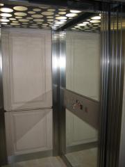 Elevators are cottage, room.