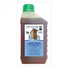 Liquid for septic tanks and cesspools of Goode Chemical biogiving 1 l