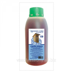 Liquid for septic tanks and cesspools of Goode Chemical biogiving 0,5l