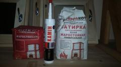 Glue for a marble, mosaic and glass tile Marble white