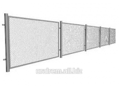 Panel protection – a fence from a welded grid