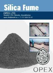 Microsilicon dioxide (additive to cement,