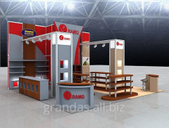 The stand is exhibition, external and vnutrennya
