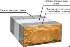 Blocks for construction the Euroheatblock from the