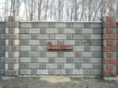 Euroheatblocks with a facing layer