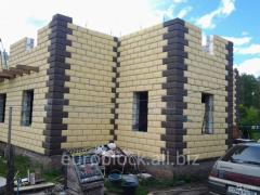 Строительные блоки с теплоизоляцией
