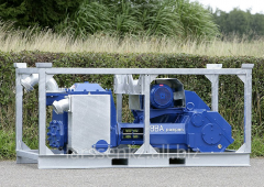 The electric piston pumps BBA Pumps for water