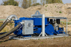 The diesel piston pumps BBA Pumps for water