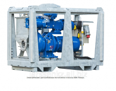 Electric centrifugal motor-pumps and pumps BBA