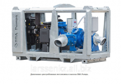 Diesel centrifugal motor-pumps and pumps BBA Pumps