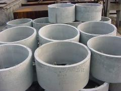 Reinforced concrete rack