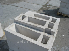 The block is reinforced concrete ventilating