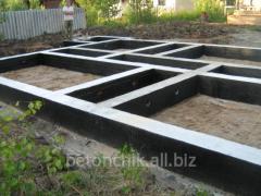 Фундамент под быстромонтируемое здание