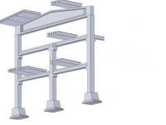 Concrete combined produc