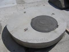Плита для колодца с люком