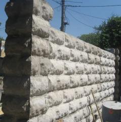 Monolithic concrete produc
