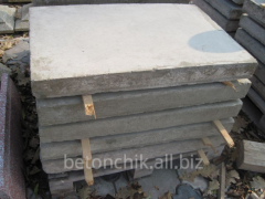Плита накрывная из бетона