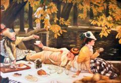 """Картина """"Завтрак на природе"""" 61х91"""