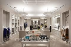 Show-windows for boutiques of Almaty