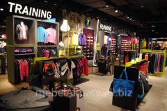 Show-windows for Almaty clothes