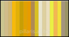 Color RAL palette